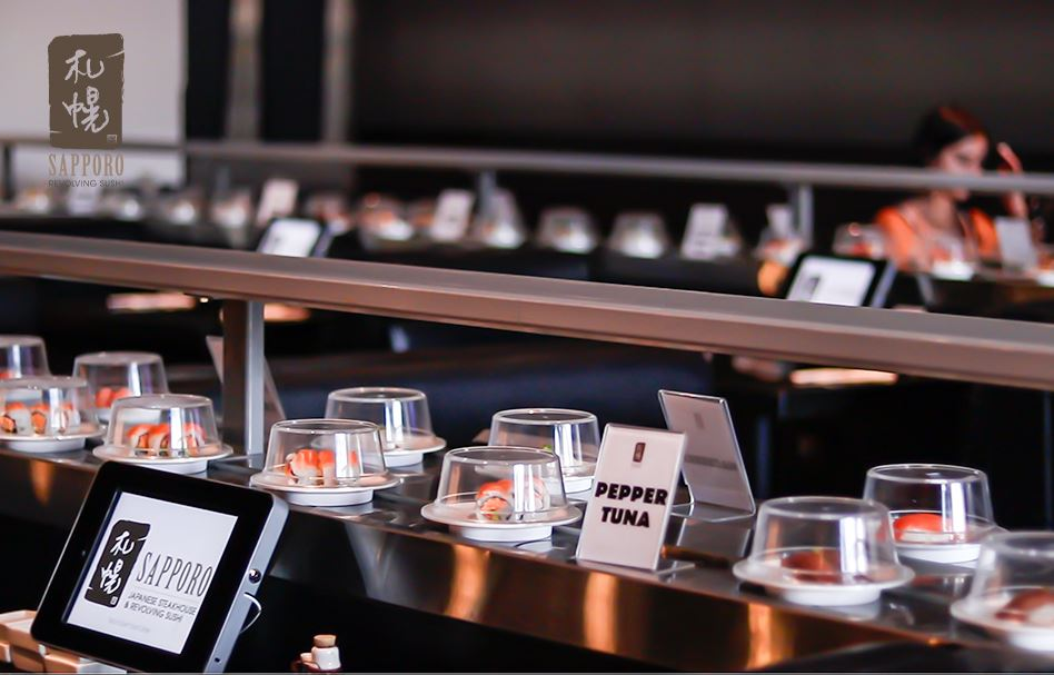 Sapporo Revolving Sushi Expands to Fourth Location